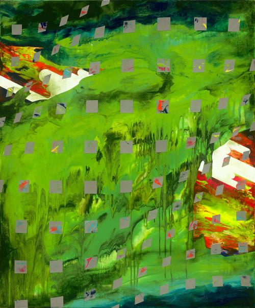 周代焌_迴盪在今昔中的景色_2020_壓克力、畫布_120×100cm_小