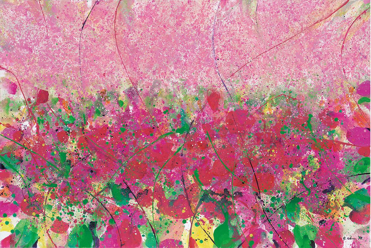 春天里的春天系列之四 压克力画布 97x145.5cm(80P)