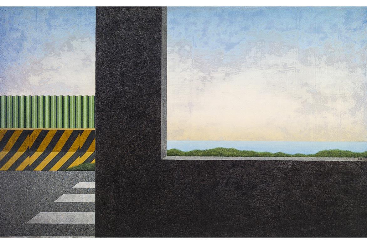 胡朝聪 想望 2013 压克力、画布板 73x117.5cm