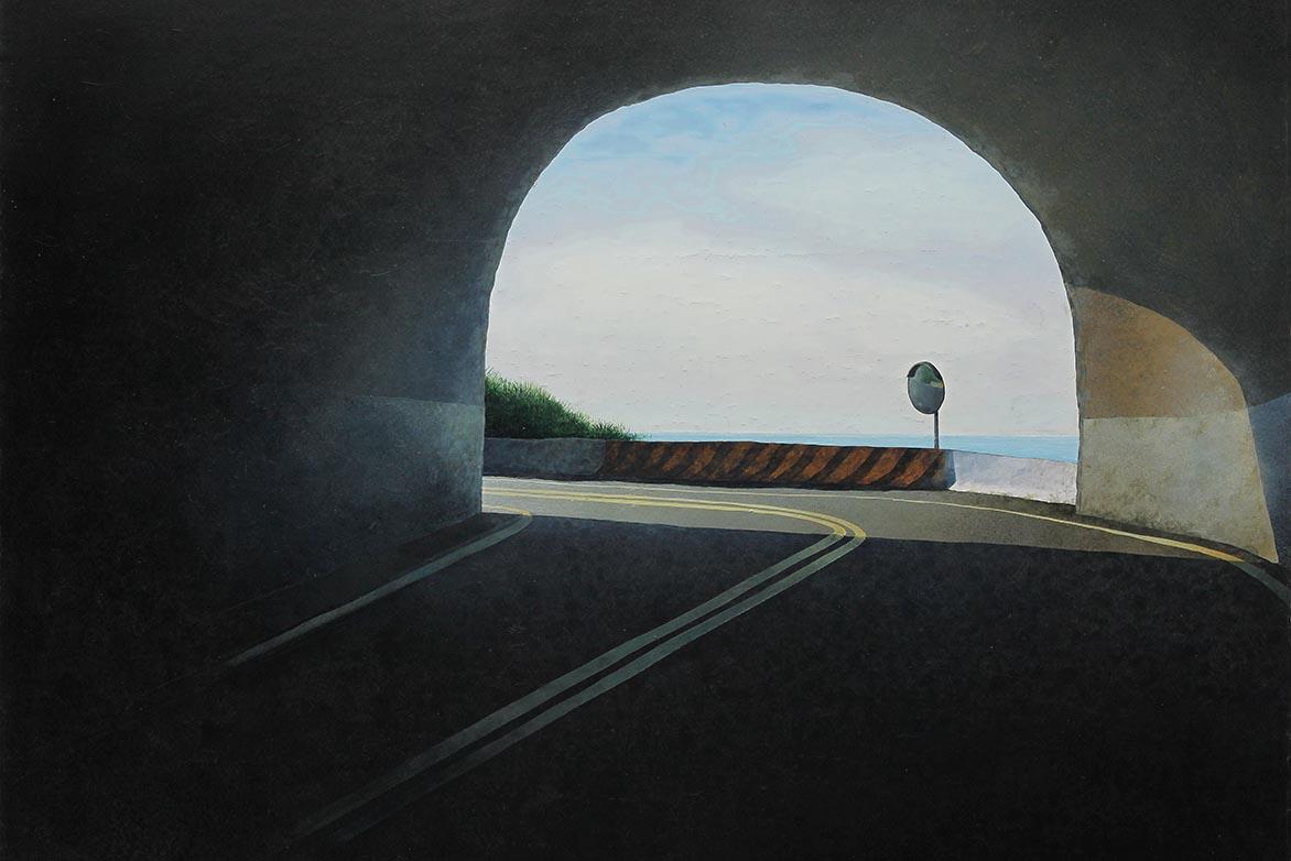 胡朝聪 边缘.轮廓 34 2011 压克力、画布板 73x91.5cm