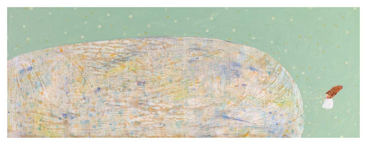 彩色星球 压克力画布 60x160cm