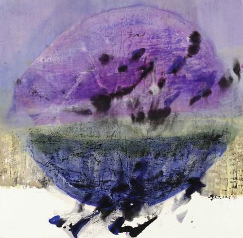 李重重  心中的图象 2014 水墨设色丶纸本 68×69cm