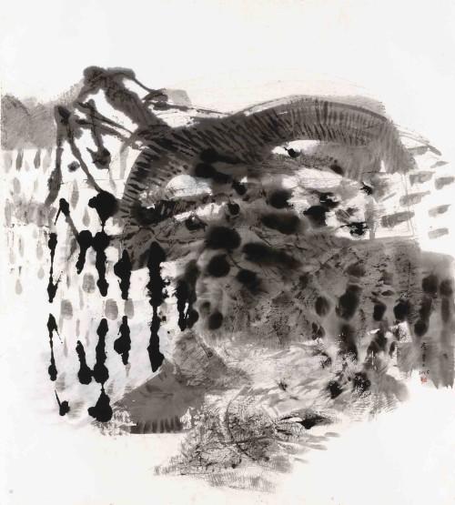 李重重  听风的歌 2015 水墨丶纸本 108×96cm