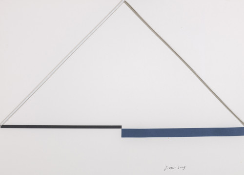 林寿宇 纸上作品 2007 复合媒材 39.5×55.5cm 63×78.5×6cm (含框)