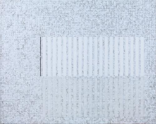 庄普 书架上的微光 2015 压克力丶画布 71×90cm  87.5×106×7.8cm (含框)