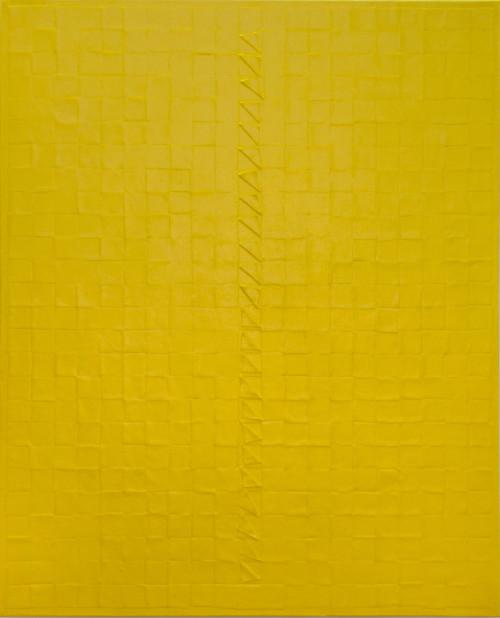 庄普 遨游四方-黄 1983 压克力丶画布 80×65cm 93.5×78×6cm(含框)