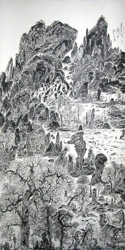 Yu Peng_Lotus Landscape