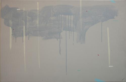 庄东桥 风景的流动 2010 压克力画布 89x130cm