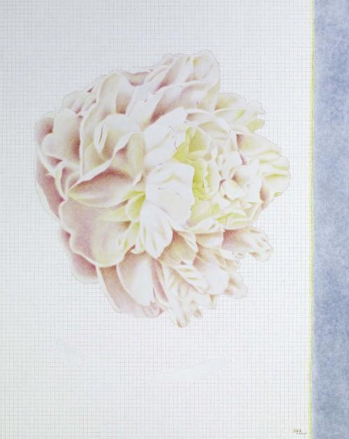 淡淡三月天 油彩画布 162x130cm