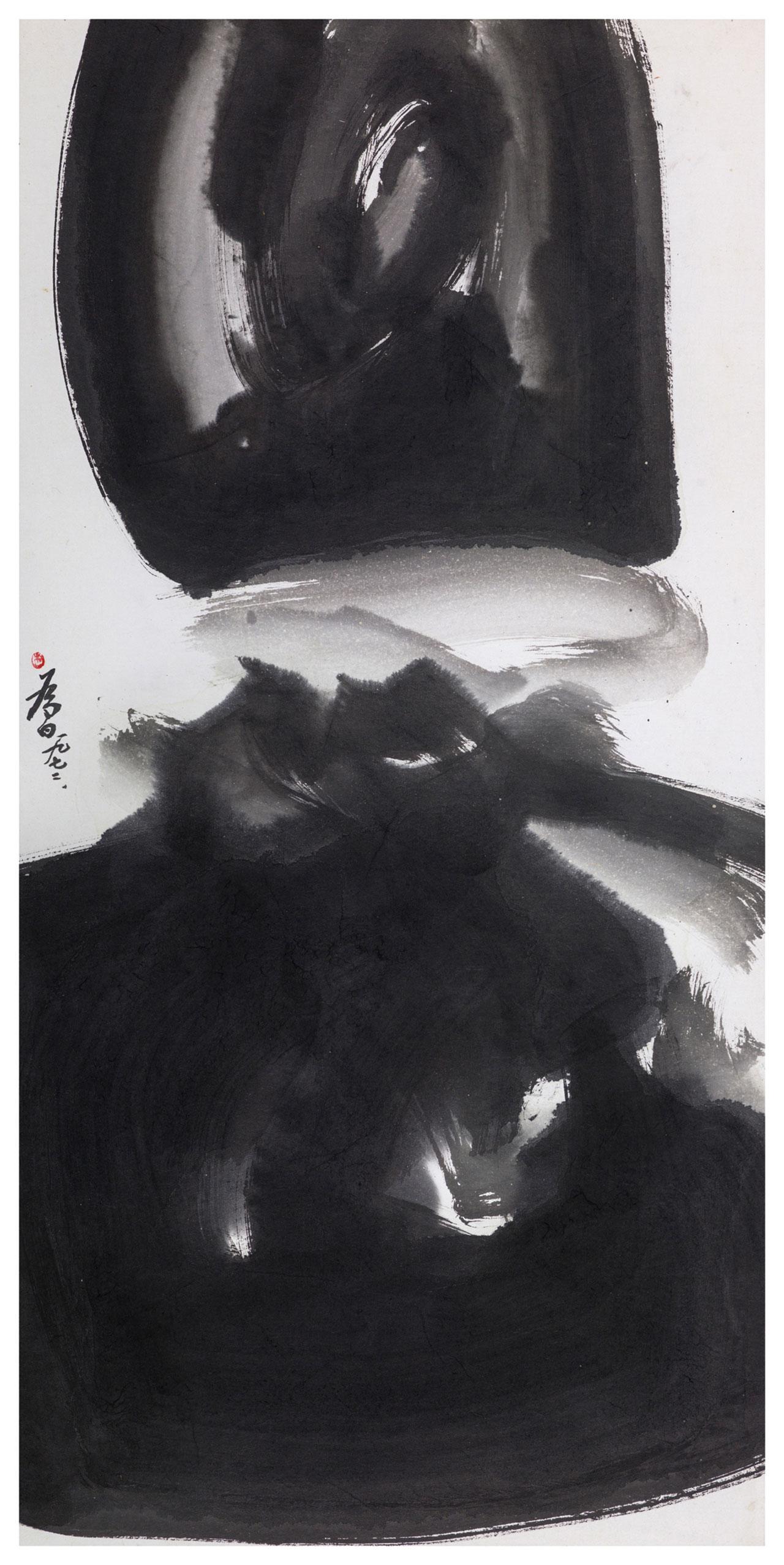 Ink-1 Ink 142x79cm