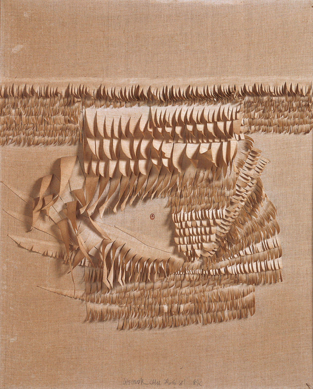 Autumn linen 81.5x66.5cm