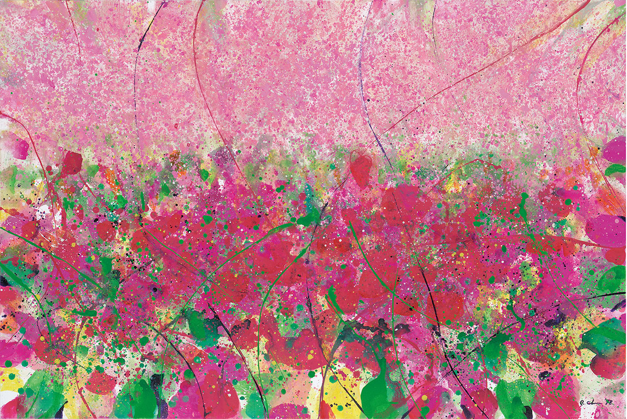 Spring Within Spring Series IV Acrylic on canvas 97x145.5cm(80P)