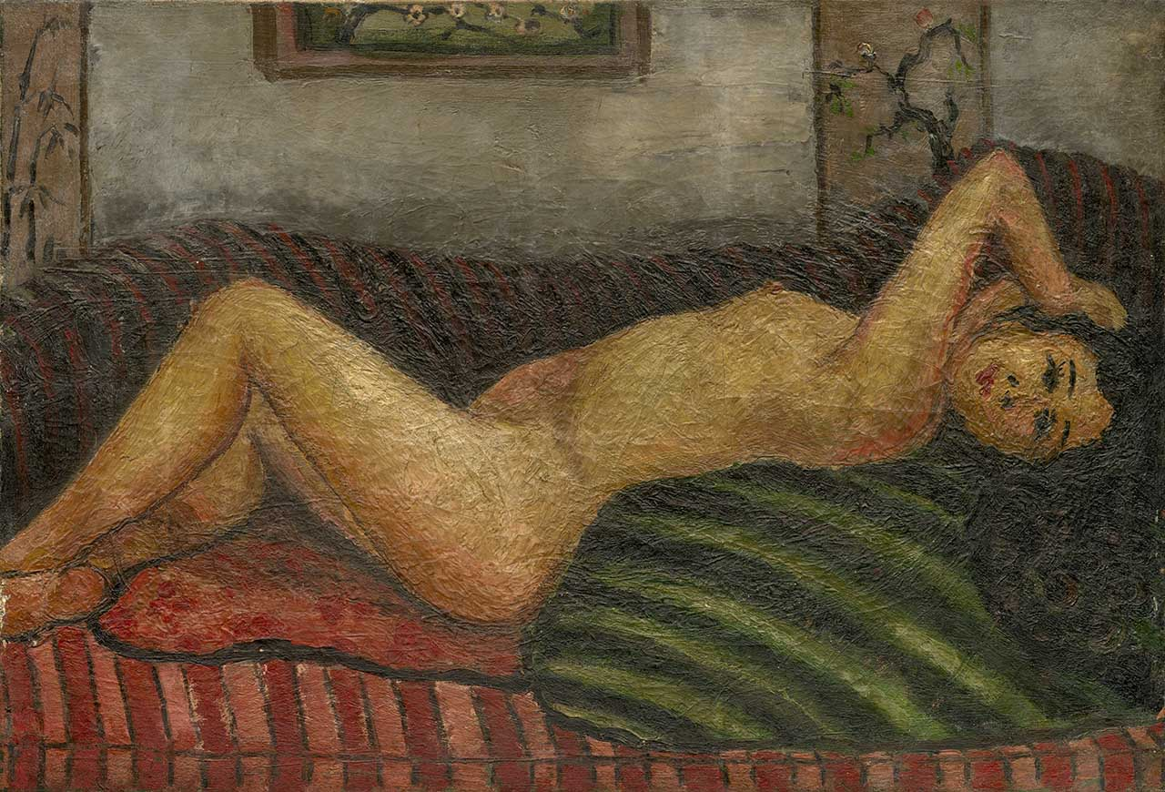 Nude in Lying Posture Oil on canvas 52.5x77cm 25M