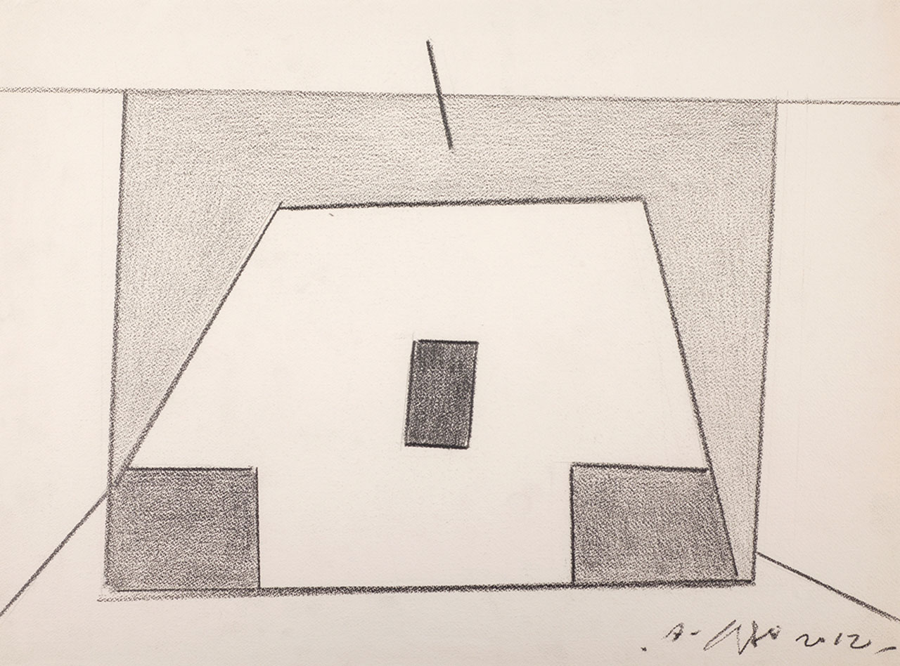 Untitled 11 Pencil on paper 52x65cm