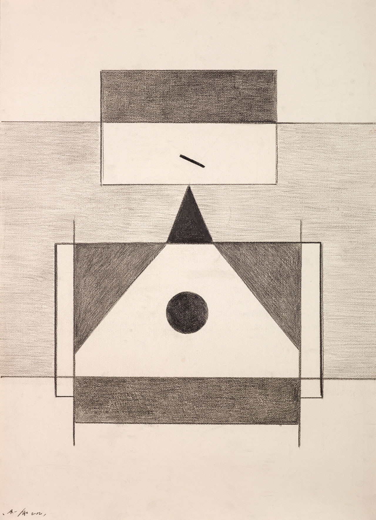 Untitled 21 Pencil on paper 109x79cm