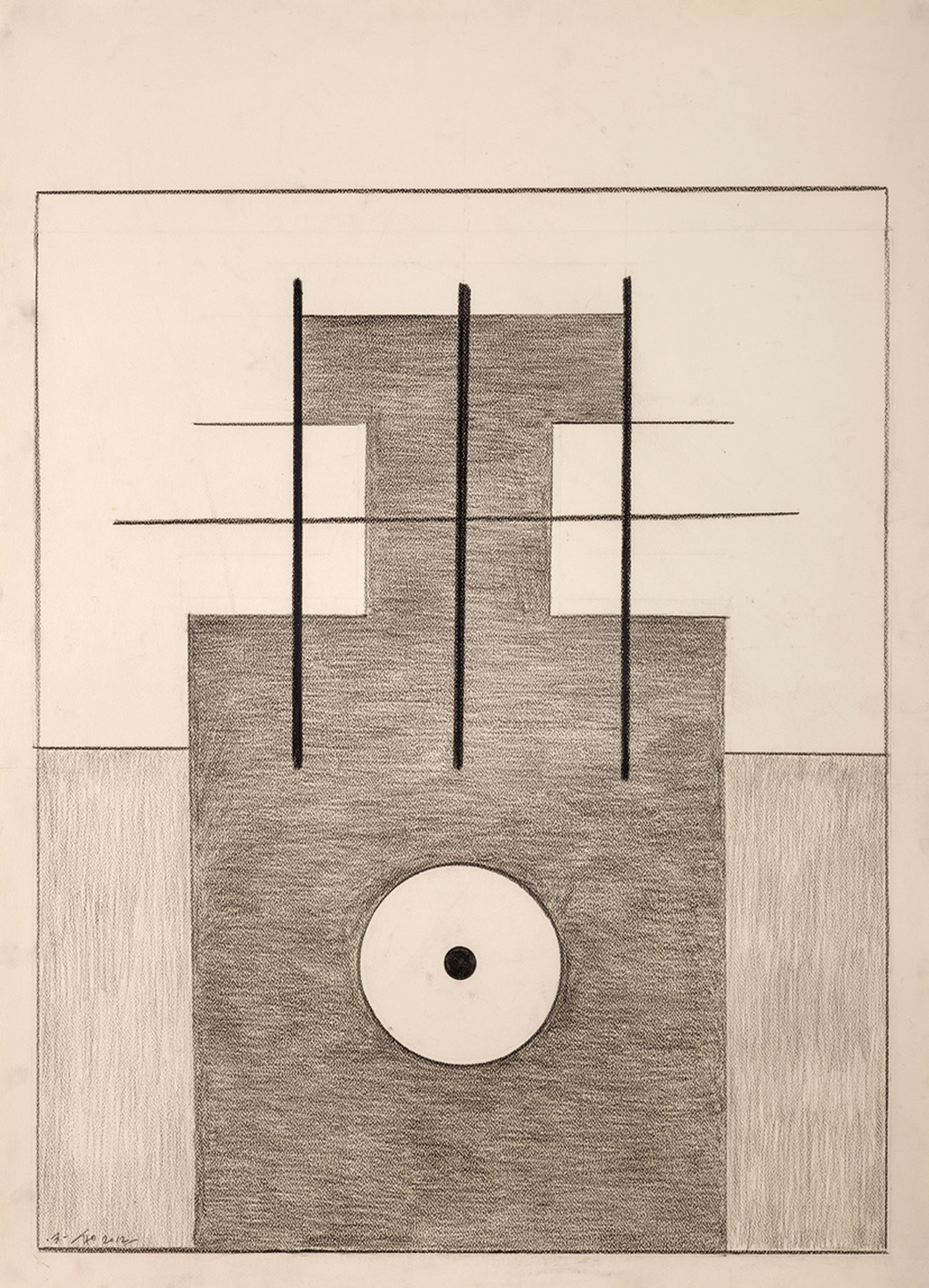 Untitled 25 Pencil on paper 109x79cm