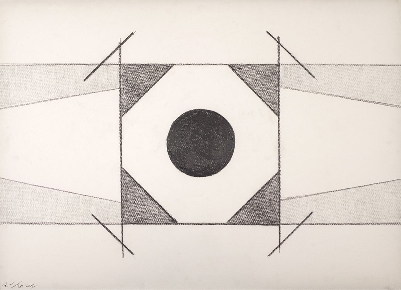 Untitled 9 Pencil on paper 72x101cm