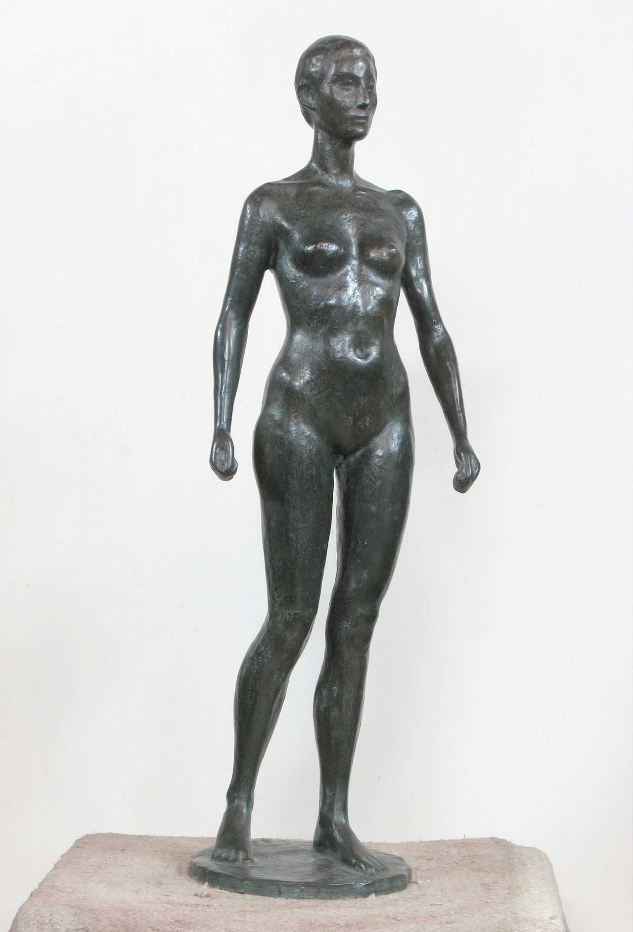 Standing Gracefully 74x24x20 Copper
