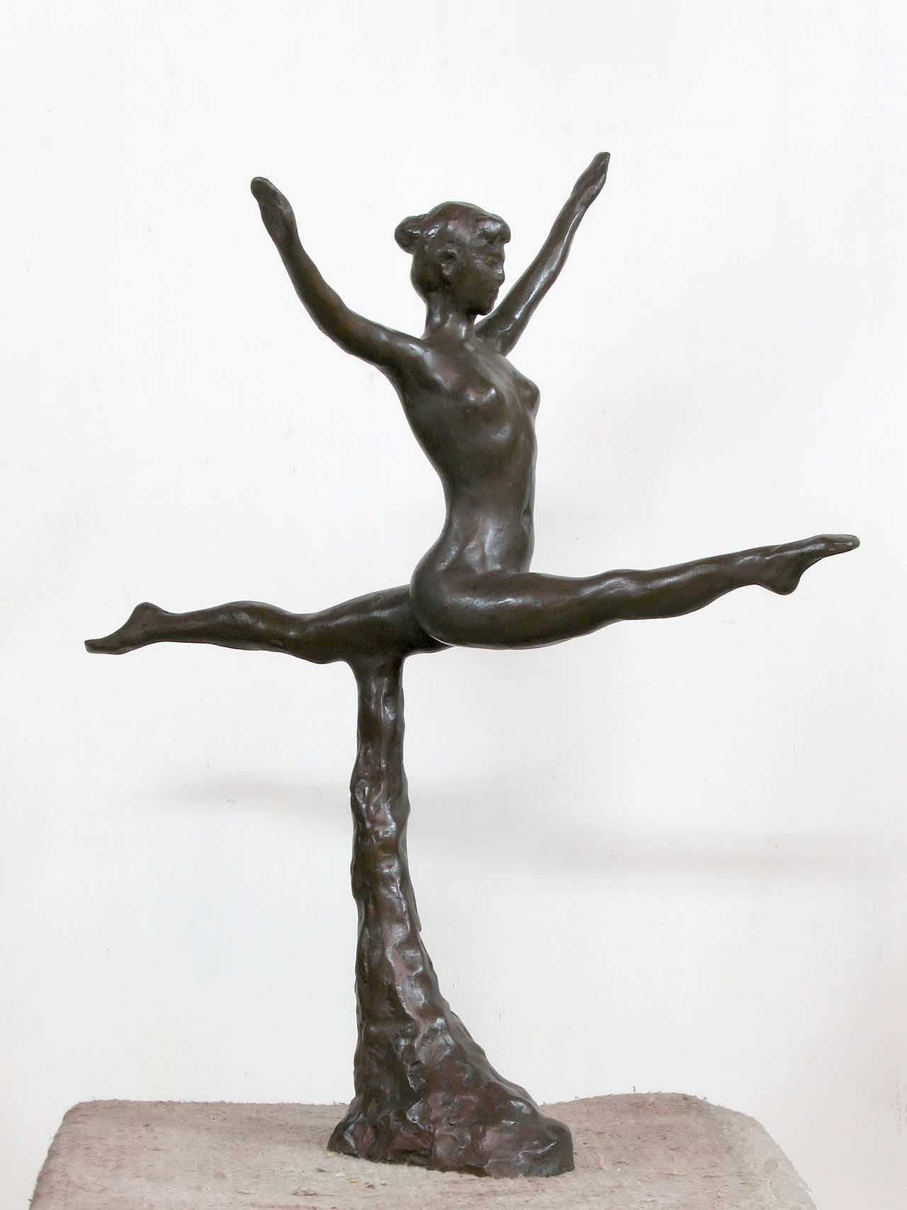 Gymnastic Series 7 60x55x34cm Copper