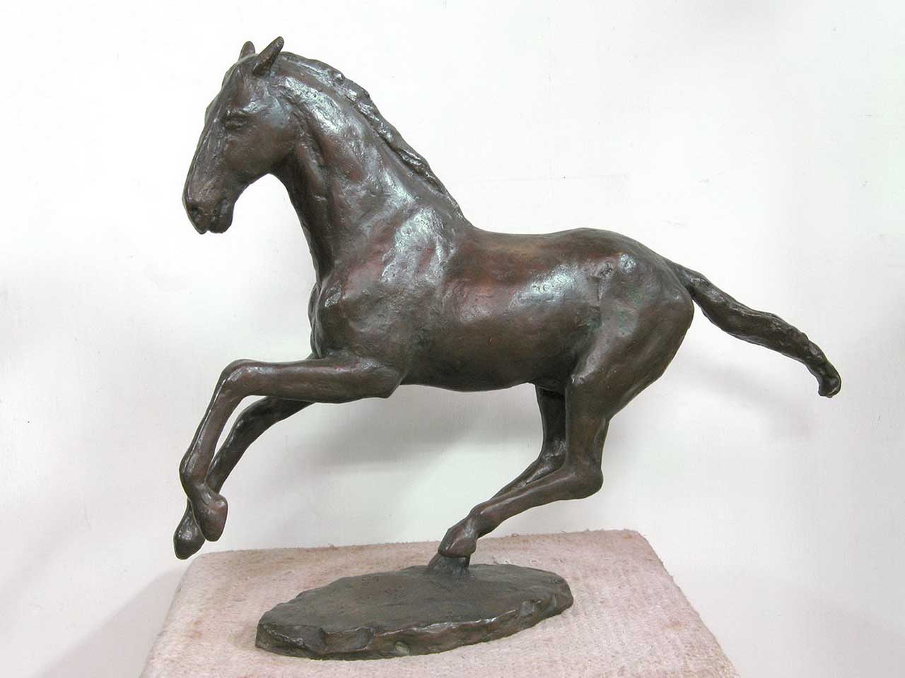 Running Horse 58x47x14 Copper