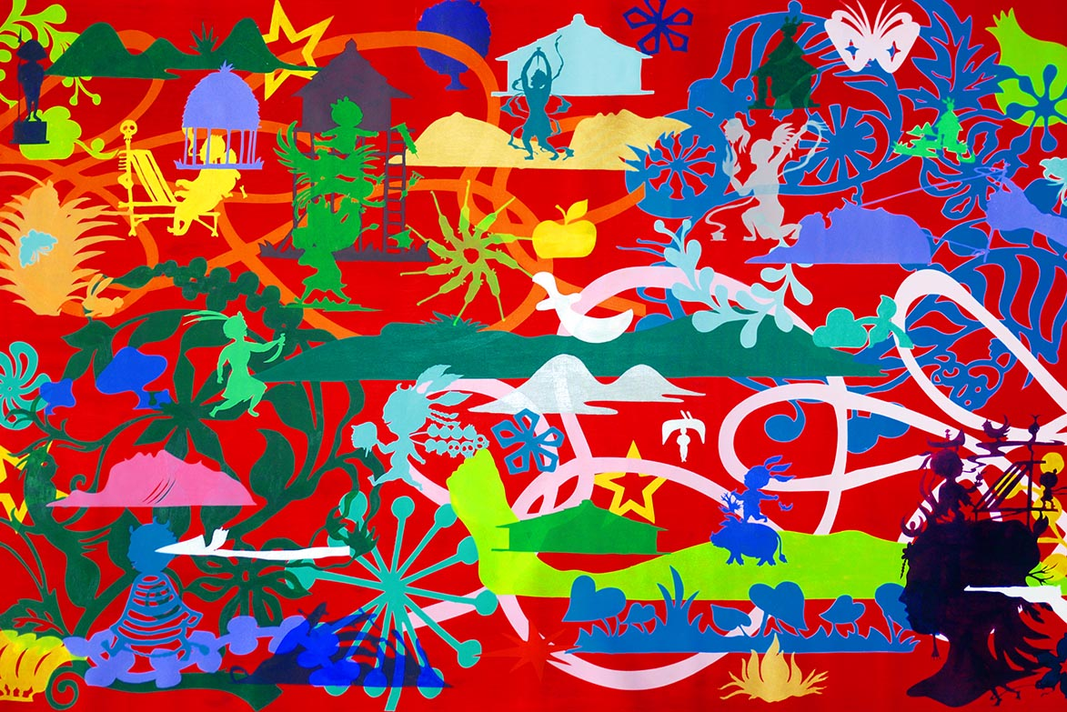 Colors Killers Acrylic on canvas 100x160cm 壓克力、畫布