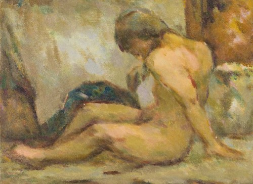 Nude Oil on canvas 8P