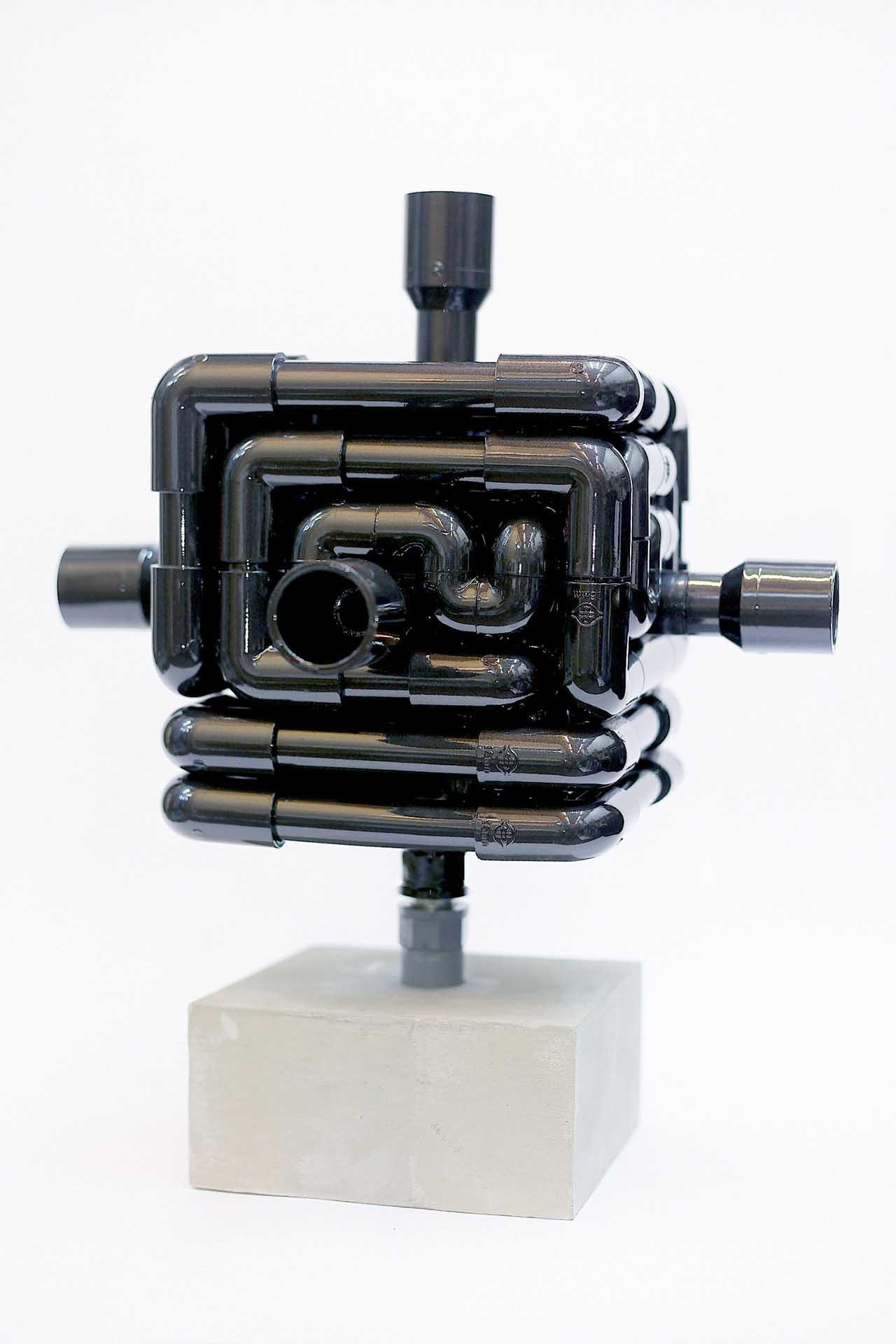 來自遠方的聲音 多媒材裝置 30x30x45