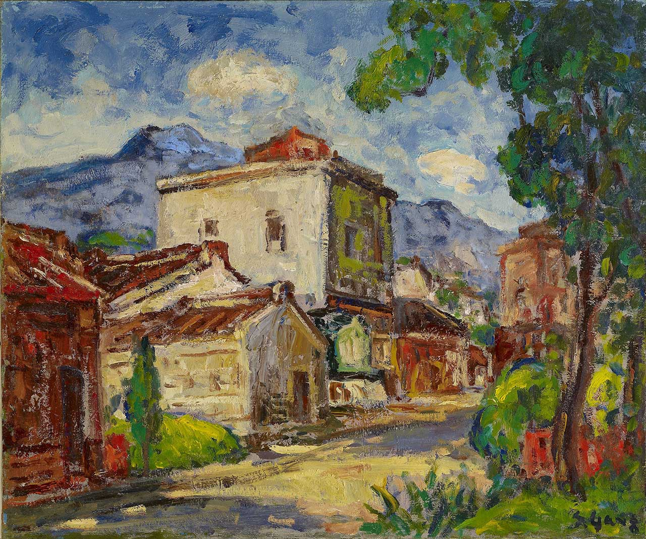 Tamsui Oil on canvas 61x73 cm