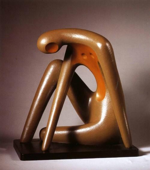 CHEN Yin-Jye Listen 1984 Copper 36×35×22cm