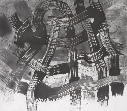 CHU Ko  Eight Structuralisms Ink on paper 92×105.5cm 114.5×128×6.5cm(with frame)