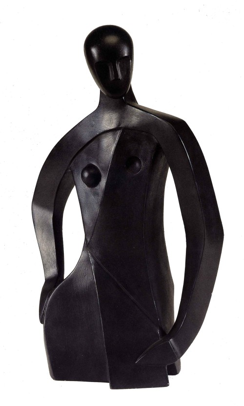 CHUEH Ming-Te Maiden Bronze 67.6×40.5×22.7cm Photo Credit:Taipei Fine Arts Museum