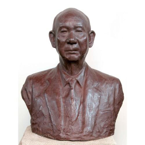 PAUL Tien-Shen Wu San-Lien 1982 Copper 64×54×36cm