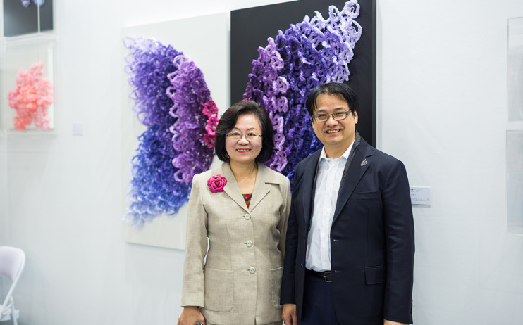 President of Egret Cultural and Educational Foundation, Chen Yu-Chiou & President of Liang Gallery, Yu Yen-Liang