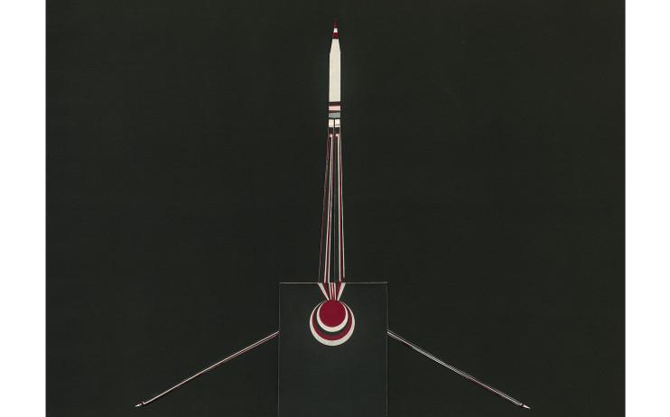 朱為白_標_複合媒材、棉布_1300x1630mm_1996