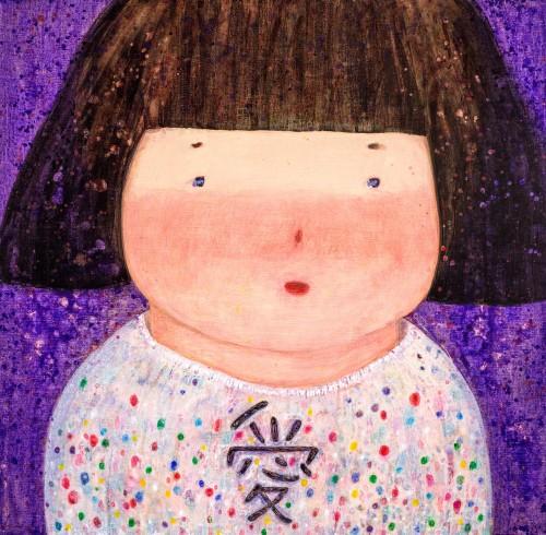 羅喬綾 像寶石一樣的愛 2018 壓克力麻布 140x143cm