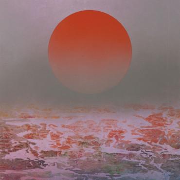 劉國松 太陽圖之21 彩墨、紙本 82.7x72.8cm