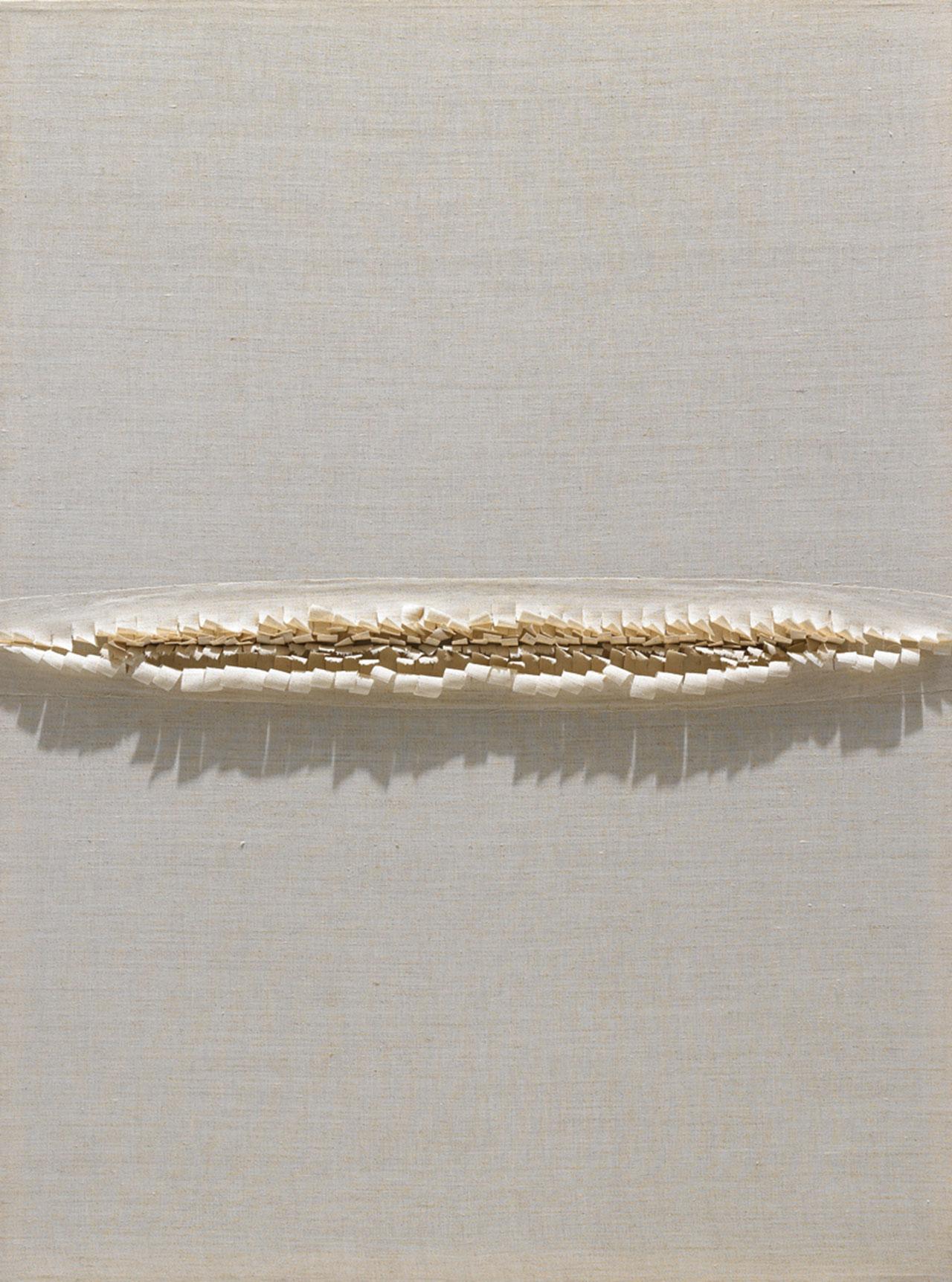 朱為白 智慧種子 麻 108x80cm