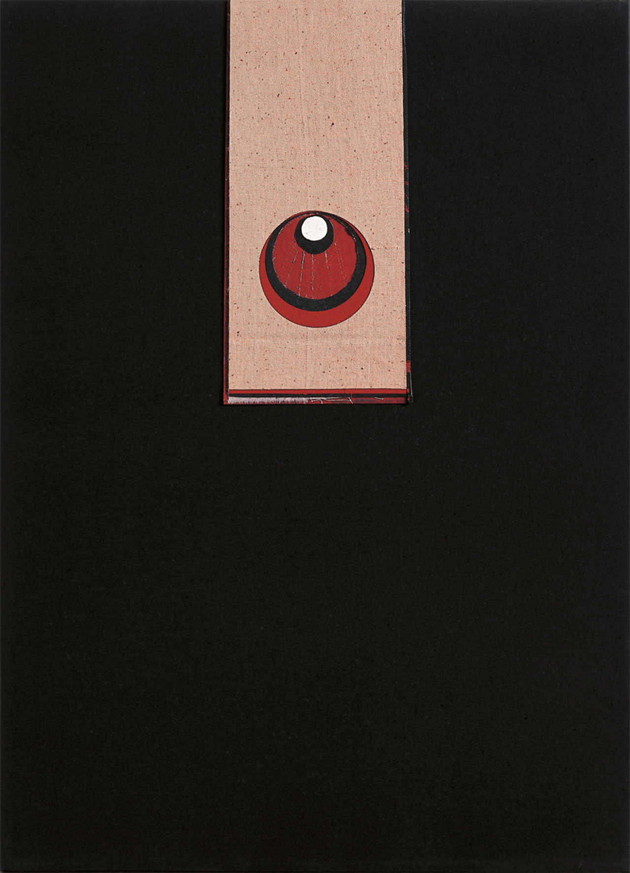 朱為白 歸元組合2 綿、麻 60x43.5cm