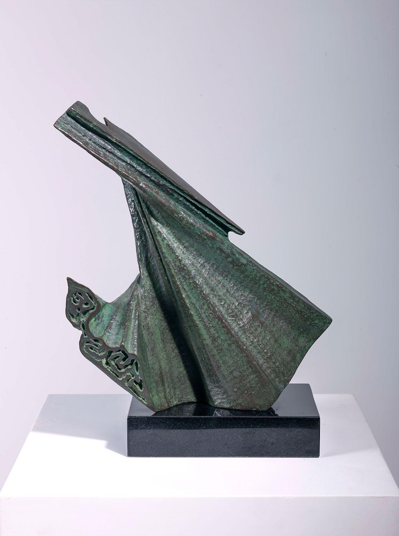 楊英風 水袖 銅雕 30×33×15cm