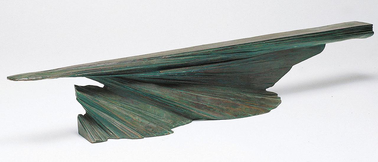 楊英風 起飛(三) 銅雕 16.5x97x13cm