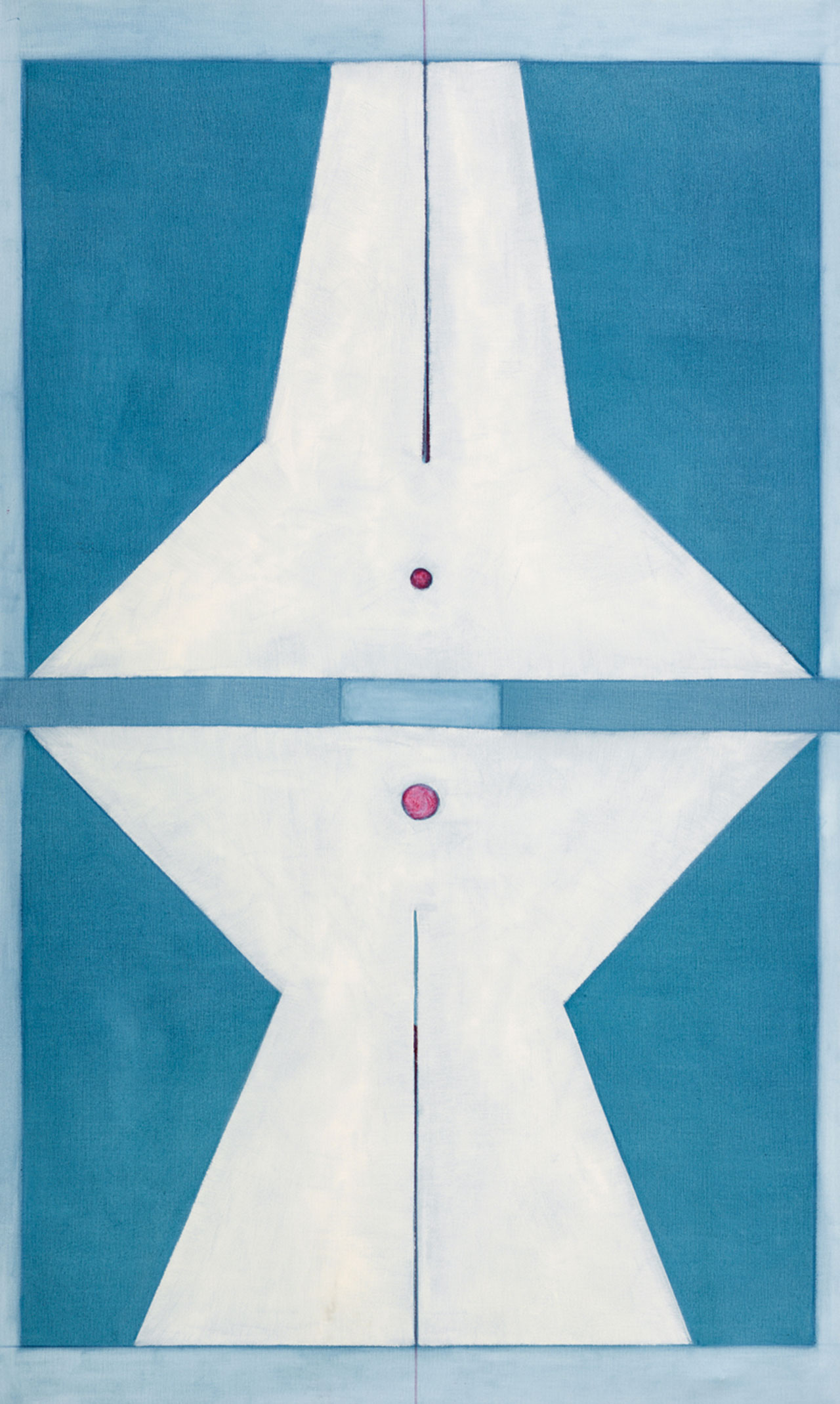 霍剛 承合1 油彩畫布 200x122cm(122號)
