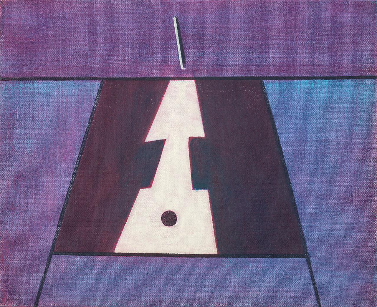 霍剛 無題1 油彩畫布 53.5x65.5cm(15F)