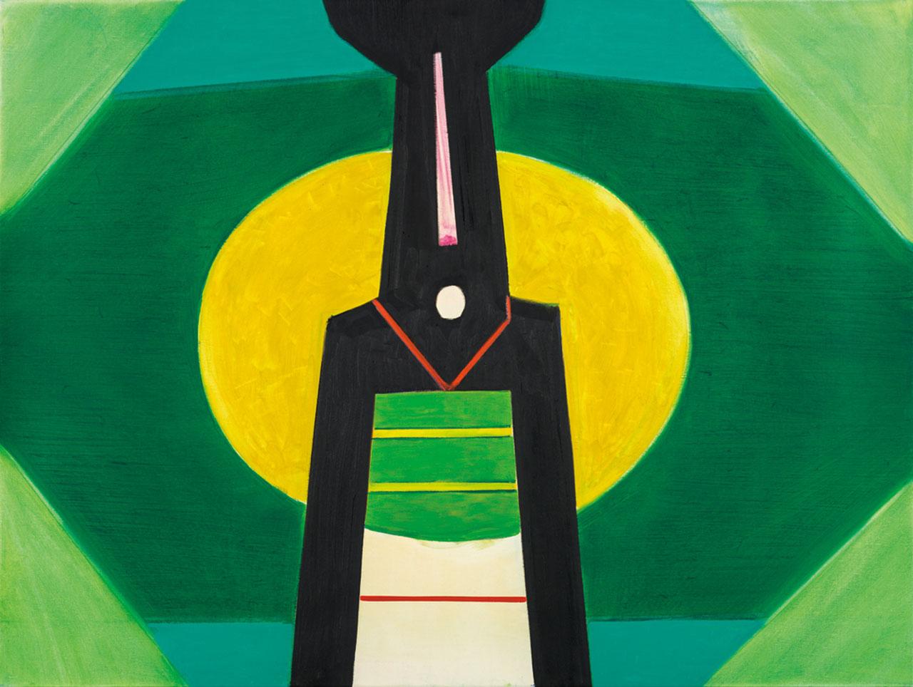 霍剛 開展之5 油彩畫布 87x130cm(60F)