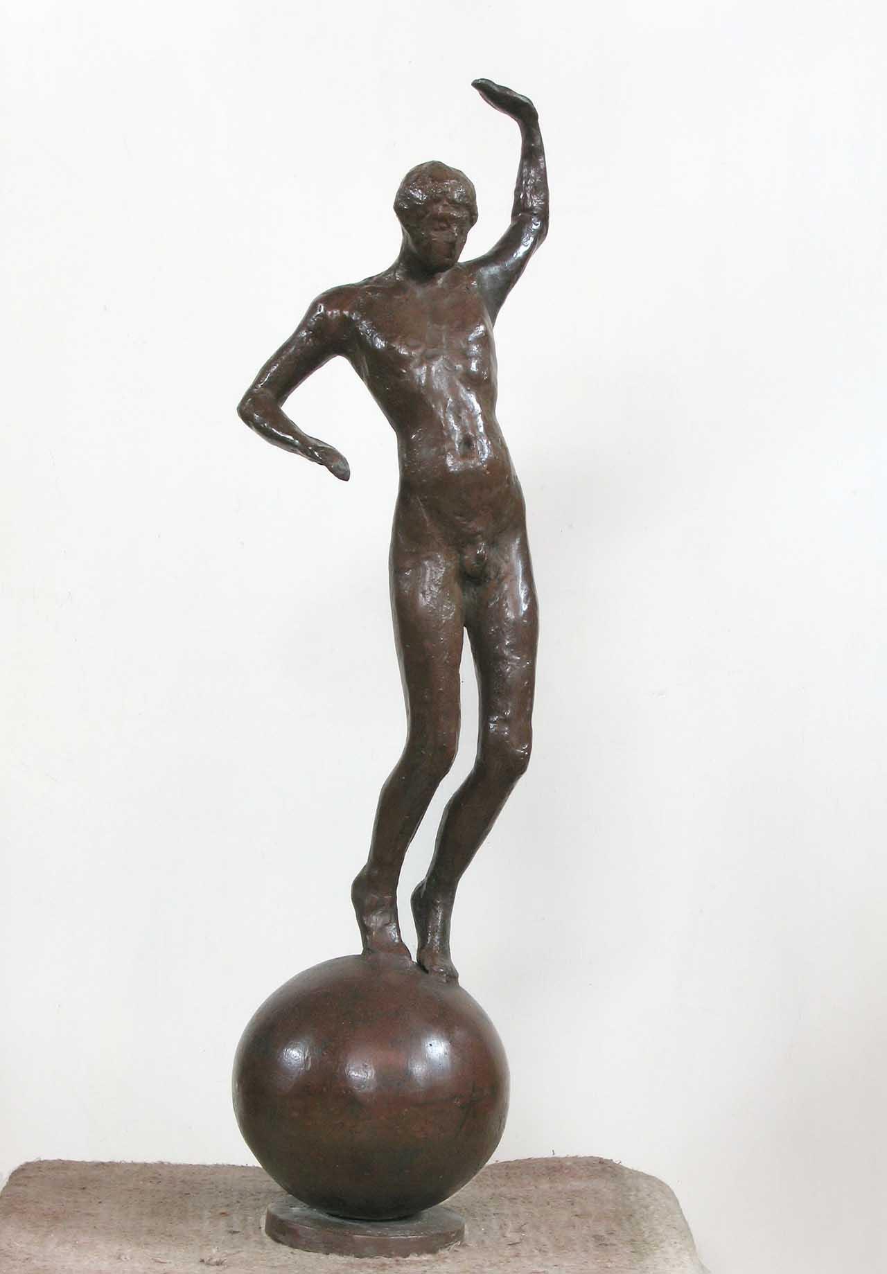 蒲添生 運動系列-9 青銅 74x20x18cm