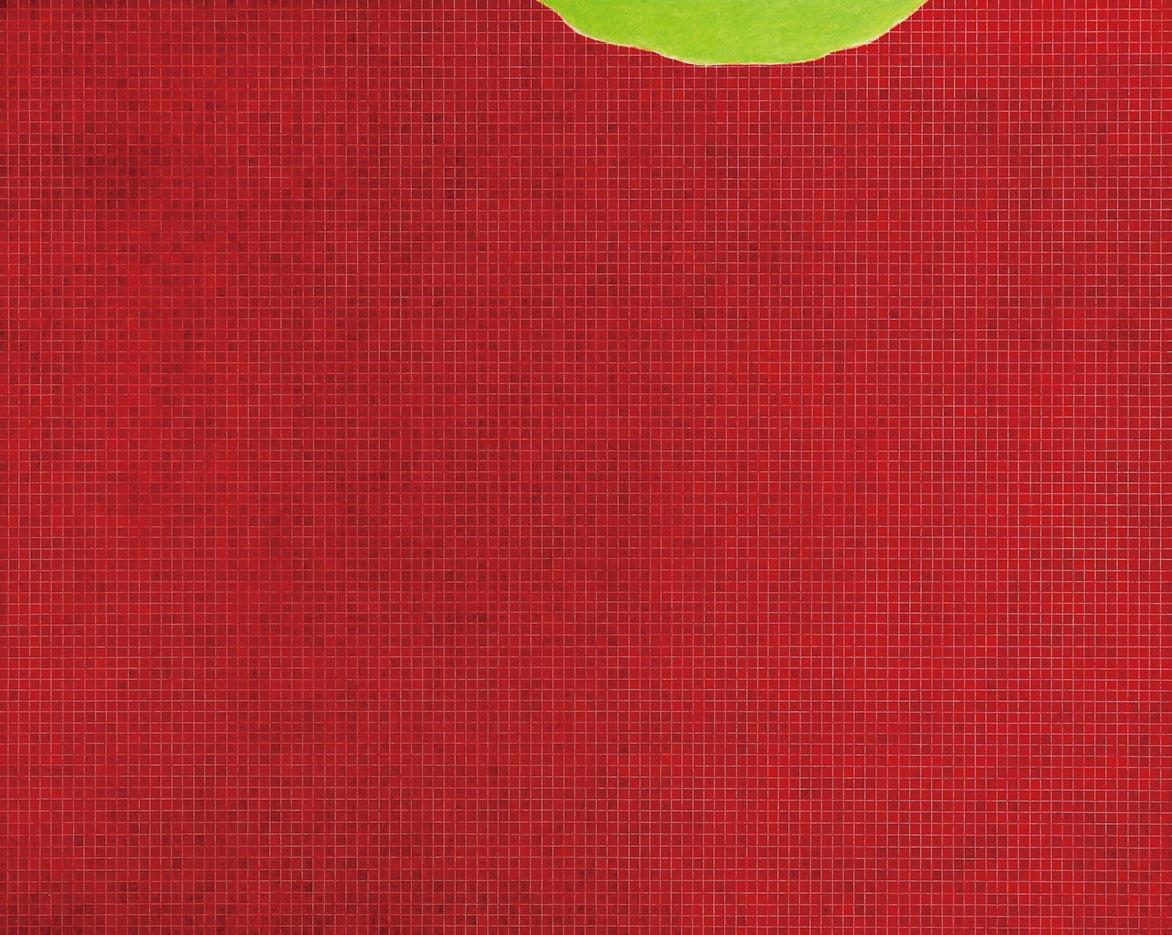 金芬華 紅之二 油彩畫布 130x162cm