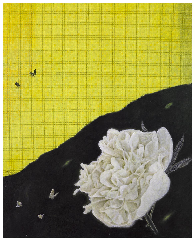 金芬華 秋 油彩畫布 162x130cm