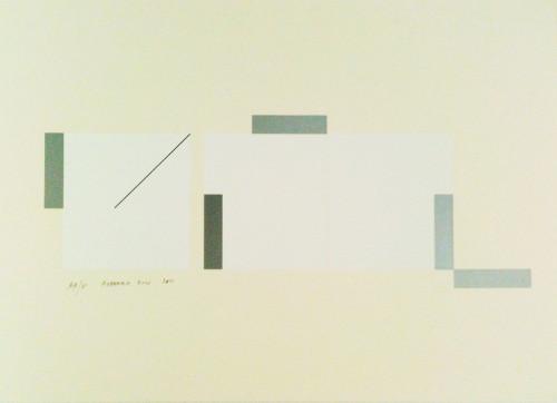 林壽宇 無題 IV 2010 版畫 73.5×104.5cm 87×117×6cm (含框) ed.30/30