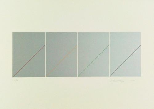 林壽宇 無題 II 2010 版畫 73.5×104.5cm 87×117×6cm (含框) ed.30/30