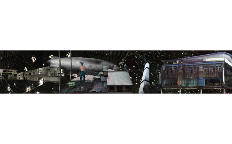 陳依純  小黑在工廠中的一輩子2  2015  彩色有聲錄像  10min