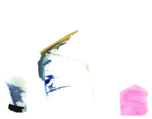 莊東橋 家屋之夢 002  2012 壓克力畫布 112x145.5 cm